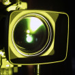 Optical lens of camcorder — Stock Photo