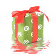 Stock Photo: Gift with reflection