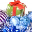 Royalty-Free Stock Photo: Christmas balls with decoration