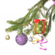 Christmas decoration on fir tree — Stock Photo #1361627