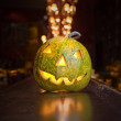 Foto Stock: Halloween pumpkin