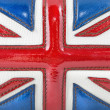 Luxury leather british flag - Stock Photo