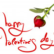 Greetings for valentine's day — Foto de Stock