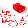 Greetings for valentine's day — Stockfoto