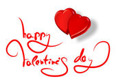 Greetings for valentine's day — Foto Stock