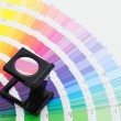 Color guide — Stock Photo