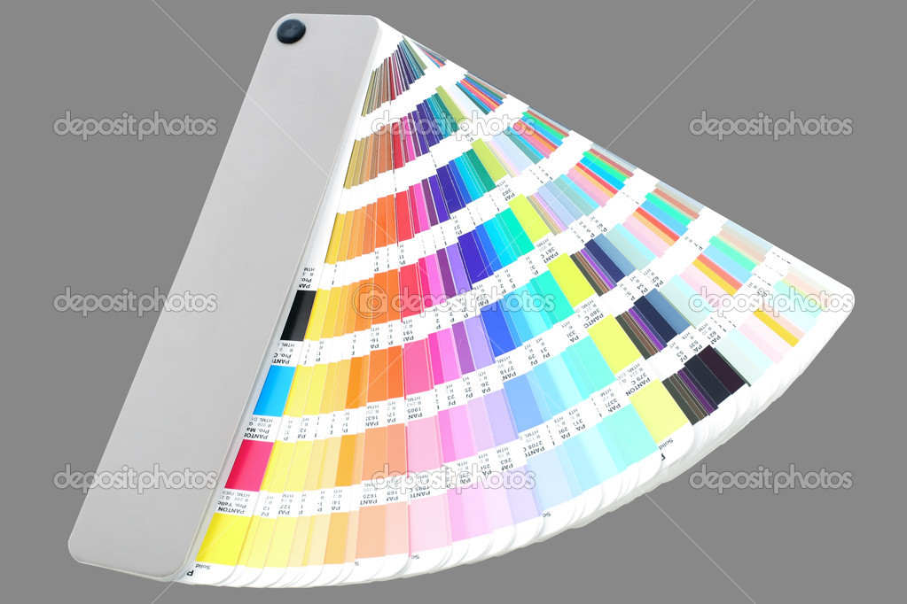 Professional color guide — Stock Photo #1365850