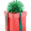 Stock Photo: Gift box with ribbon