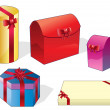 Set of packaging — Stock Vector #1599189
