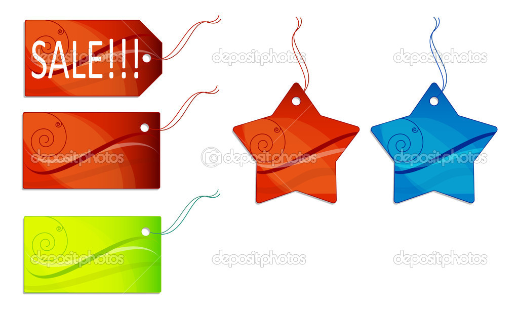 Sales tags — Stock Photo #1706044