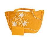Yellow purse — Stock Photo