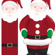 Stock Vector: Santclaus figure #2
