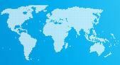 Mapa da terra — Vetorial Stock
