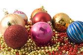 Christmas decoration - group of balls — Stock Photo