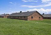 Barracks for women in Birkenau — Stock Photo