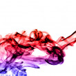 Gradient colored fume abstract — Stock Photo