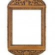 Empty carved Frame for picture — Stock Photo #1364342