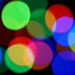 Colorful Blurred festive lights — Stock Photo #1364625