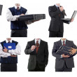 Royalty-Free Stock Photo: Collage of business-related