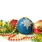 圣诞节装饰-多彩金属丝 — 图库照片