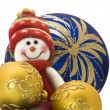 Christmas decoration toy — Stock Photo