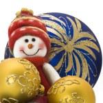 Christmas decoration toy — Stock Photo