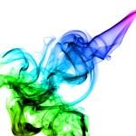Beautiful colored Abstract smoke — Stock Photo