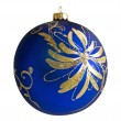 Beautiful Christmas decoration bauble - Stock Photo