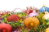 Xmas greetings - colorful decoration — Stock Photo