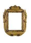 Wooden carved Frame for picture — Stock Photo