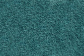 Teal synthetic fibrous surface — Stock Photo
