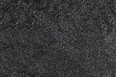 Black ornamental fabric with sparkles — Stock Photo