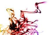 Beautiful colored Smoke abstract — Fotografia Stock