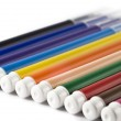 Colorful markers or felt-tip pens — Stock Photo