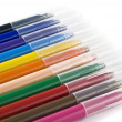 Colorful felt-tip pens (markers) - Stock Photo