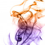 Beautiful gradient colored smoke — Stock Photo #1374775