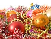 圣诞节装饰-琉璃、 金属丝 — 图库照片
