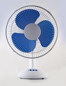 Modern desk cooling fan — Stock Photo