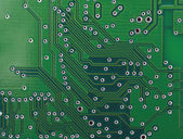Base plate of Integrated circuit — Stock Photo