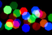 Festive colorful Blurred lights — Stock Photo