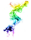 Colorful smoke abstract — Stock Photo
