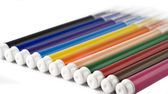 Colorful markers or felt-tip pens — 图库照片