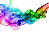 Colorful gradient fume abstract texture — Stock Photo