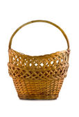 Beautiful woven basket for food — Stock Photo