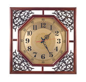 Reloj de pared antiguo — Foto de Stock