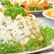 Russian salad - Banquet — Stock Photo