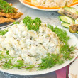 Russian salad — Stockfoto