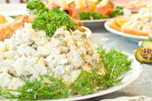 Russian salad - Banquet — Stockfoto