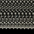 Stock Photo: Lacy cloth with flowers pattern