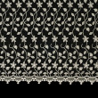 Royalty-Free Stock Photo: Lacy cloth with flowers pattern